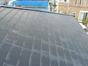 屋根の雨染み