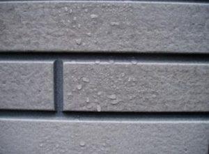 外壁の水滴2