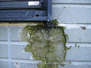 外壁の爆裂(凍害)