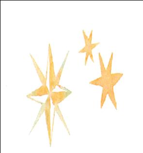 イラスト;星