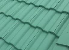 グリーンの屋根