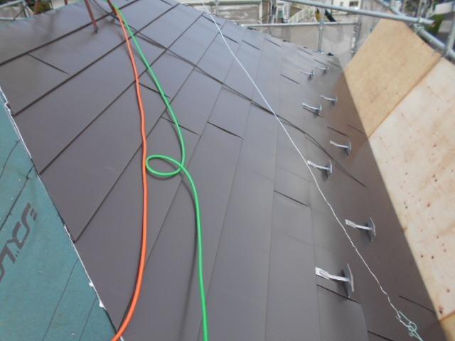 屋根の取付