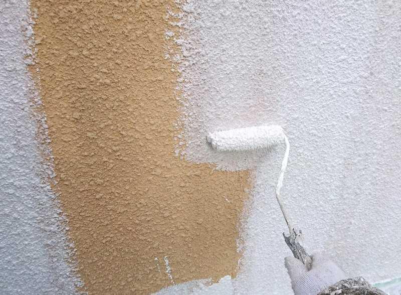 モルタル塗装