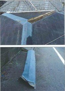屋根の台風被害