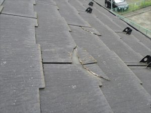 屋根の欠け