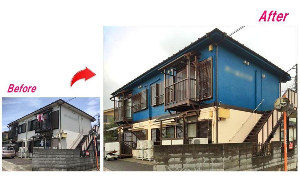 [事例付]アパート外壁塗装の費用相場とオーナーがやるべきポイント