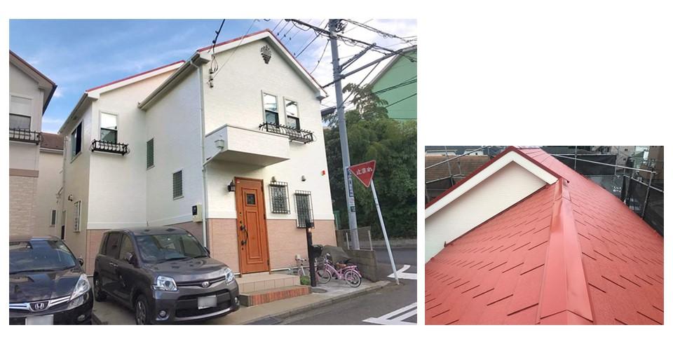 〔事例19選〕あなた好みの赤色の屋根が見つかる、色決めガイド