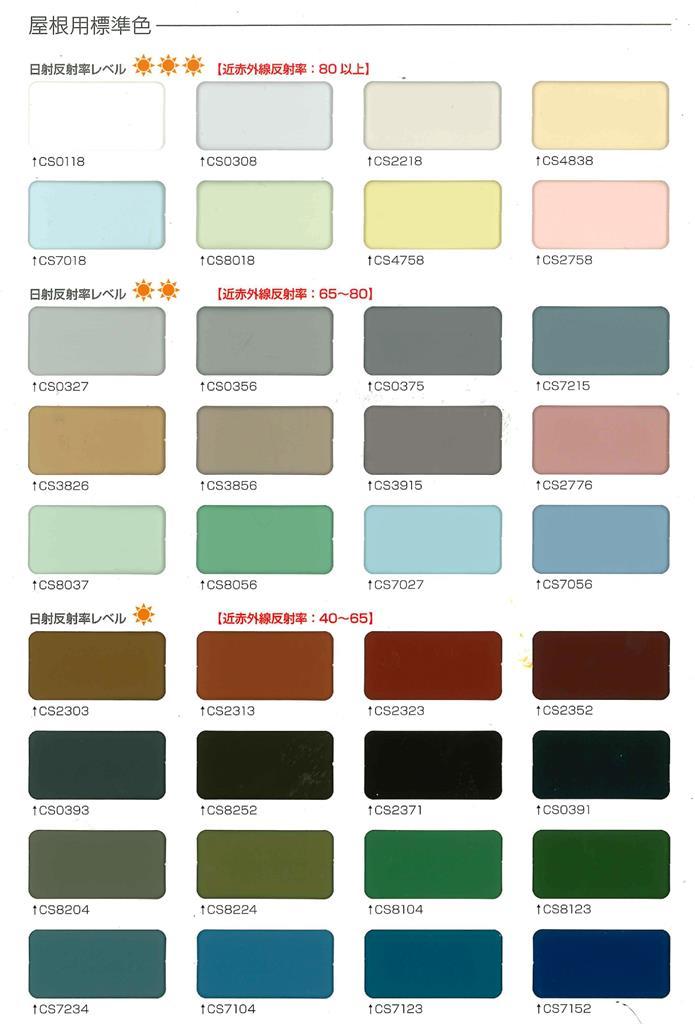 遮熱塗料のカタログ