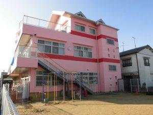 ピンクの幼稚園