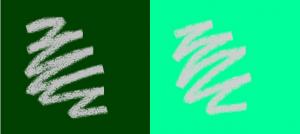 汚れの見え方の比較