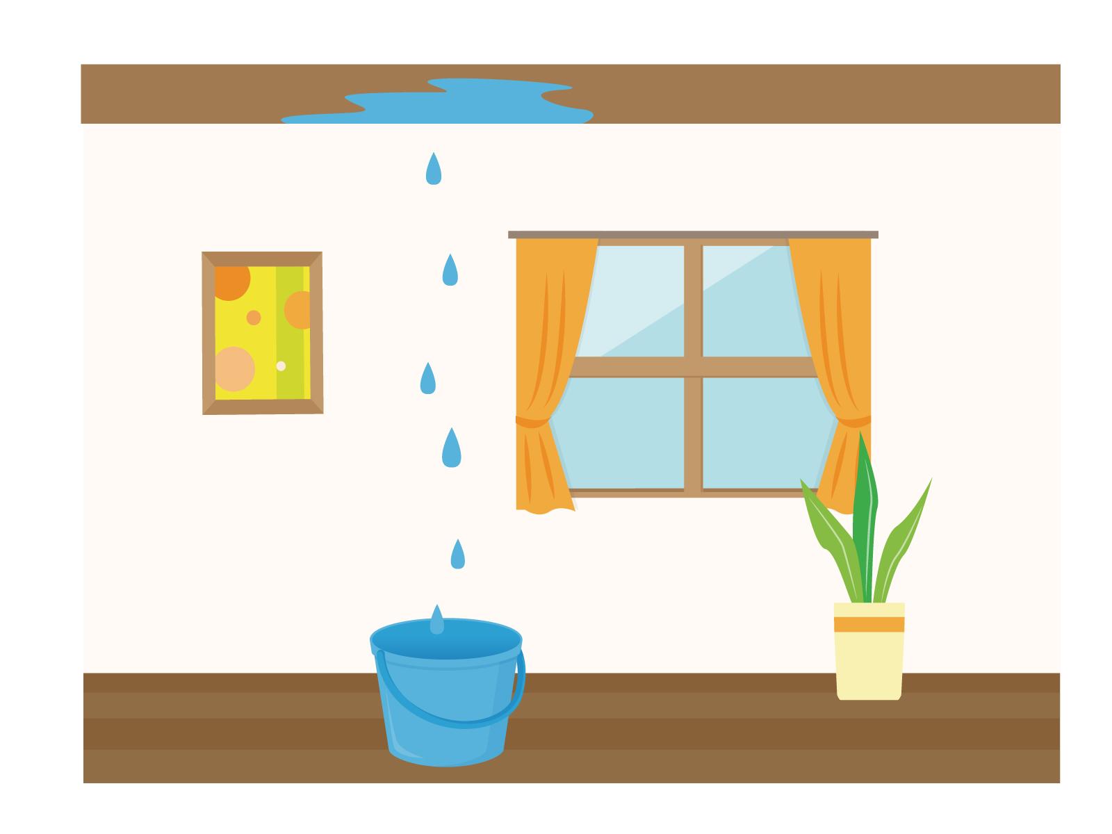 自分でできる!雨漏りの応急処置方法と業者に依頼する3つのポイント