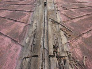 屋根の腐食
