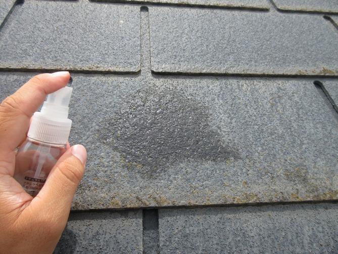 屋根 吸水