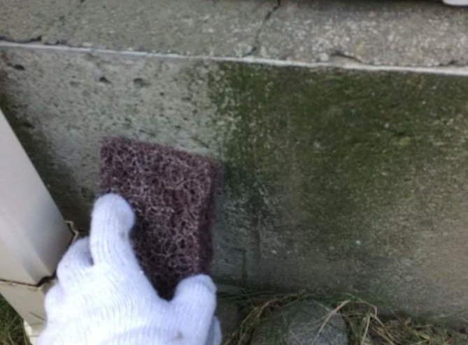 基礎 補修 掃除