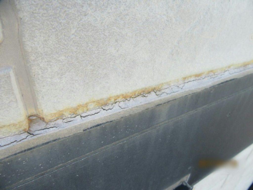 帯板の劣化