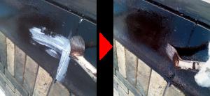 帯板の補修