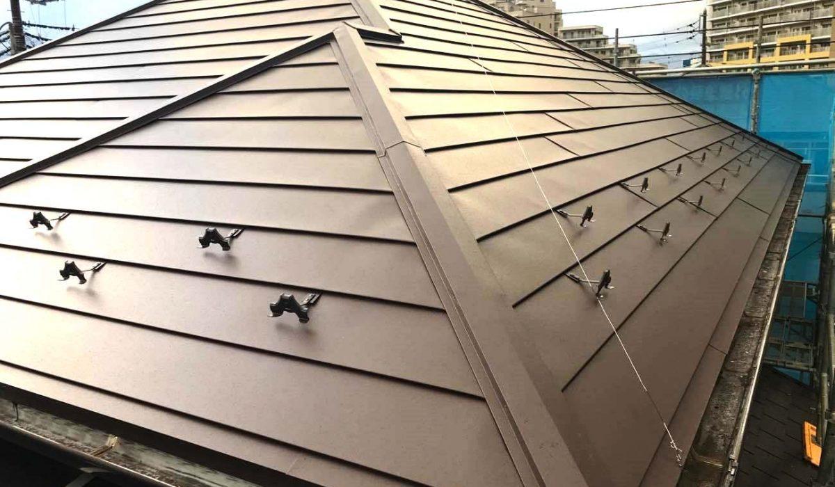 ガルバリウムの屋根リフォーム