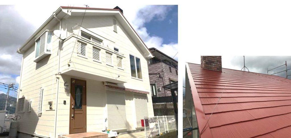 屋根と壁の色