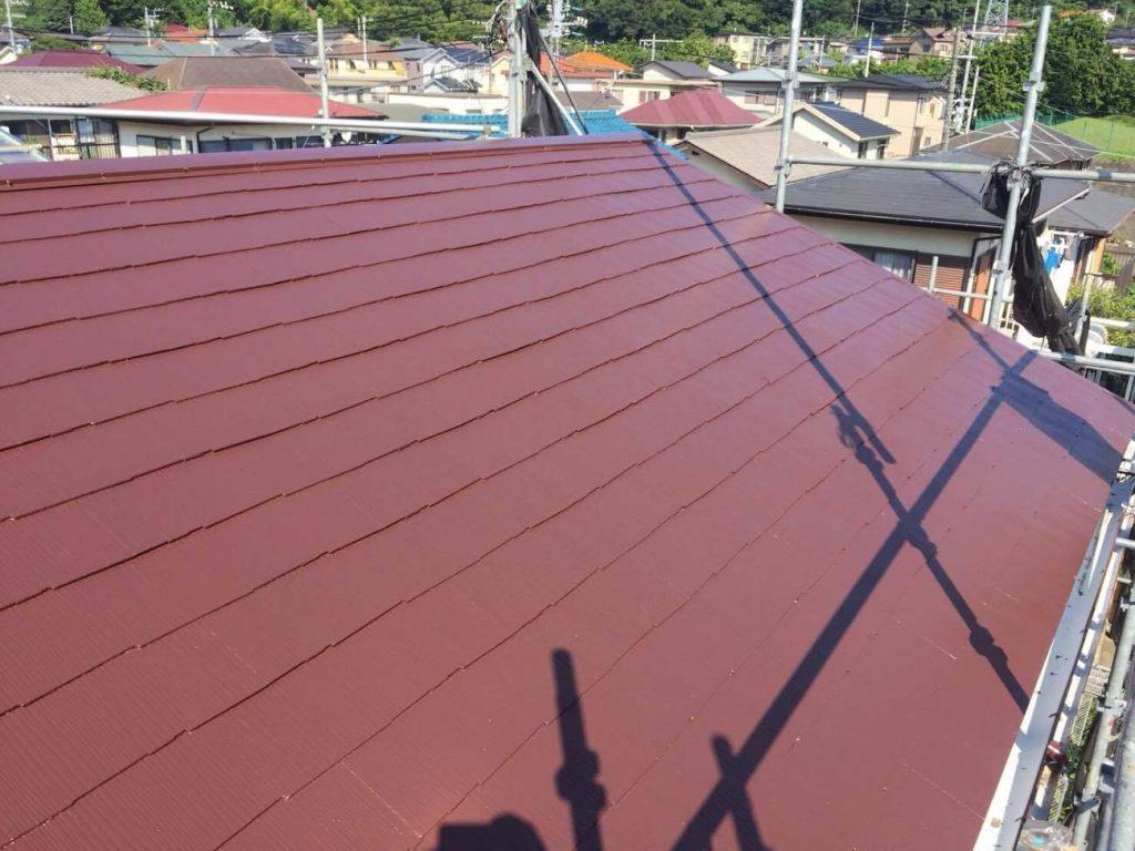 茶色の屋根
