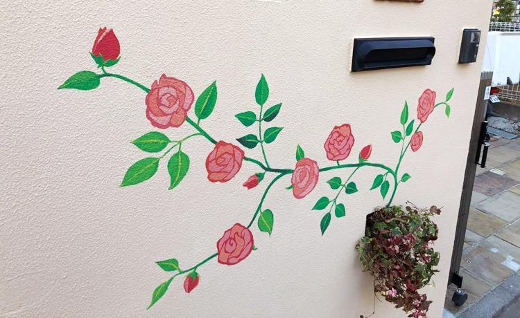 ブロック塀塗装