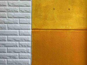 オレンジ 色ムラ