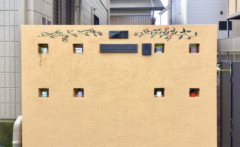ブロック塀を塗装でおしゃれに!事例12選と素敵に仕上げる3つの工夫