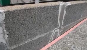 ブロック塀の修理