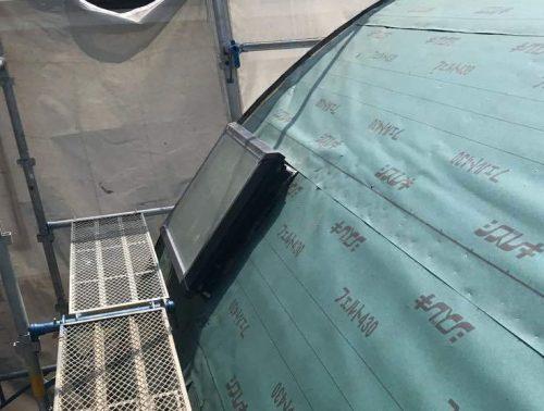 天窓 防水シート交換