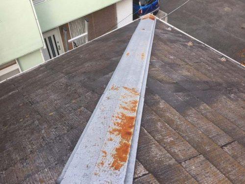 屋根板金 錆び