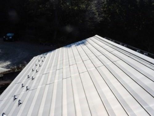ステンレス 屋根