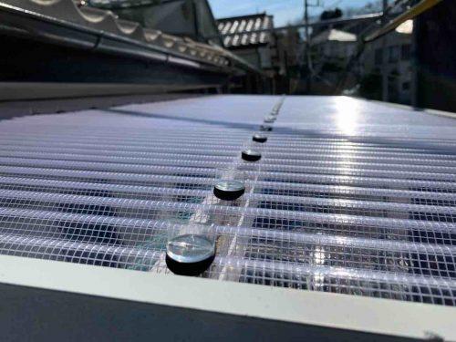 ポリカーボネート屋根 修理