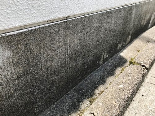 コンクリート汚れ カビコケ