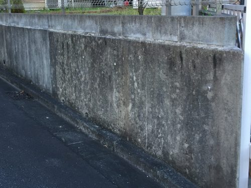コンクリート汚れ
