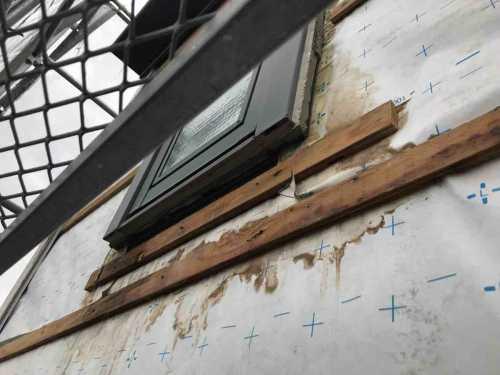 外壁 雨漏り
