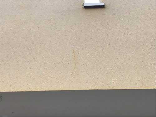 ベランダ外壁 クラック