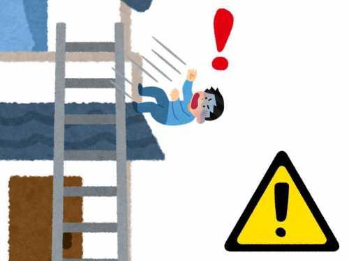 高所、転落の危険