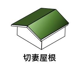 切妻屋根 画像