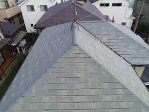 屋根 色あせ