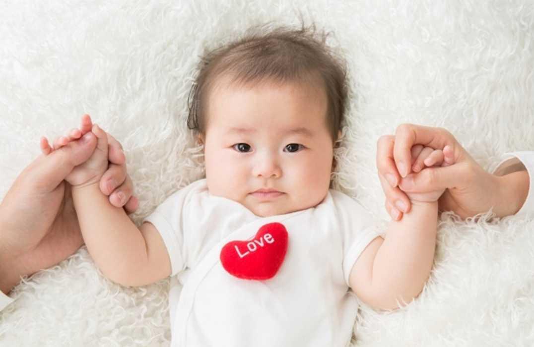 外壁塗装 赤ちゃん