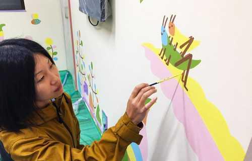 塗装職人 アートペイント