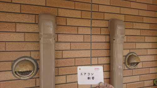 エアコン 配管