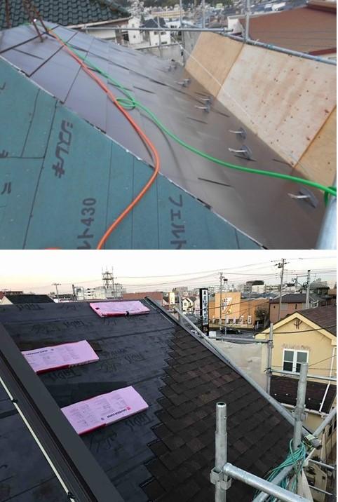 屋根 設置