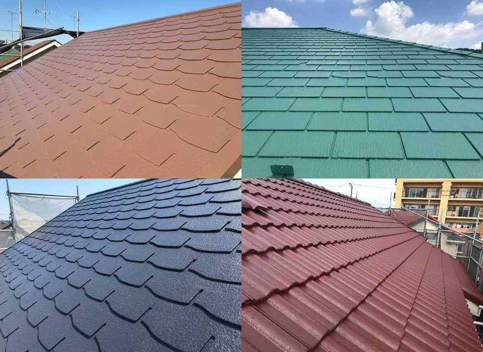 屋根の人気色