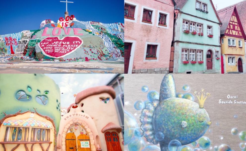 【保存版】一生に一度は訪れたい。インスタ映えが狙えそう!日本と世界のアートな壁25選